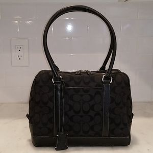 Coach Limited Edition Signature Doctor Satchel Bag